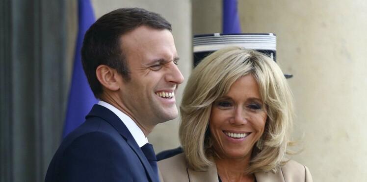 Photos - Découvrez Nemo, le nouveau chien de l'Elysée adopté par Emmanuel et Brigitte Macron