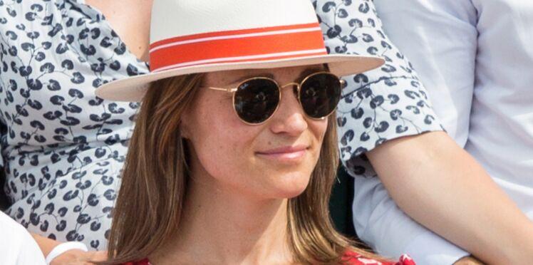 Photos - Pippa Middleton enceinte et rayonnante à Roland-Garros
