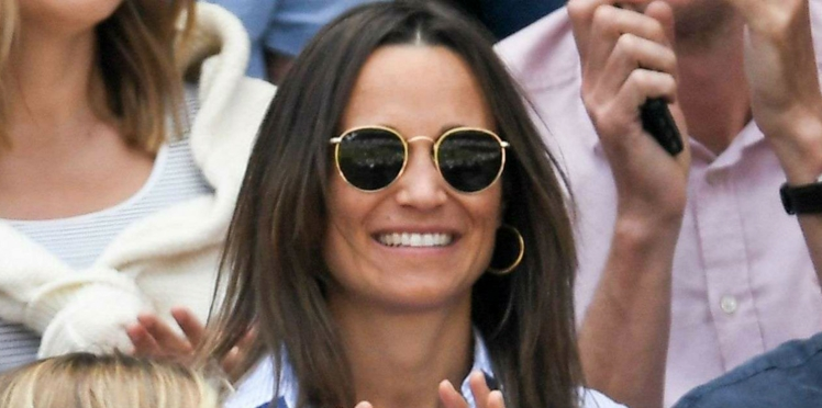 Photos - Pippa Middleton, enceinte et ravissante à Wimbledon