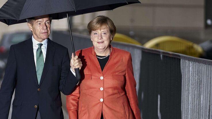 Photos - Qui est Joachim Sauer, le mari d'Angela Merkel ?