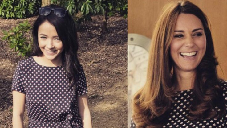 Photos - RepliKate : elle copie les tenues de Kate Middleton, en moins chères !