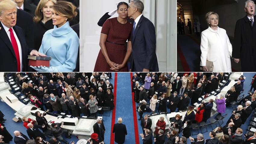 Photos – Arrivée de Trump à la Maison Blanche (et départ d'Obama) : les temps forts de l'investiture