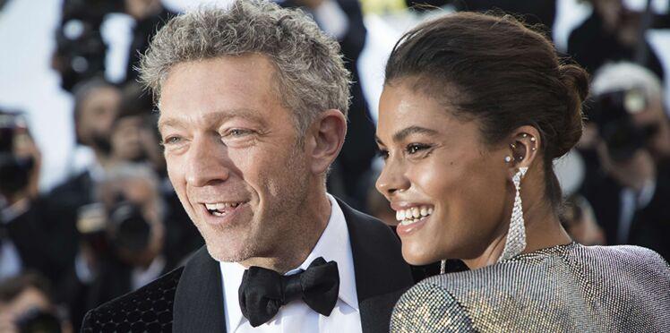 Photos – Vincent Cassel très amoureux de sa fiancée Tina Kunakey à Cannes