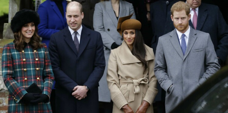 Photos - Kate Middleton, Meghan Markle, le Prince William, Harry... réunis en public pour la première fois