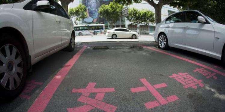 Sexisme chinois: des places de parking plus larges pour les femmes!