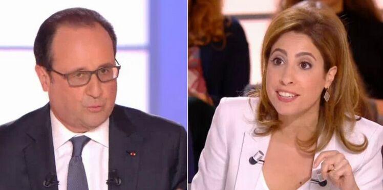 """""""C'est une plaisanterie?"""" La réponse déjà culte de Léa Salamé à François Hollande"""