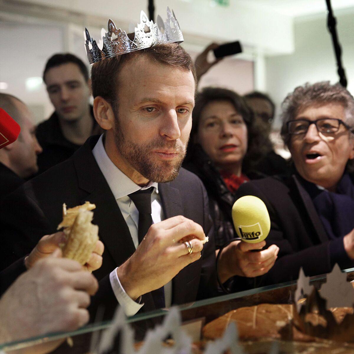 Pourquoi Emmanuel Macron est privé de fève pour la galette des rois de  l'Elysée (et c'est très sérieux) : Femme Actuelle Le MAG