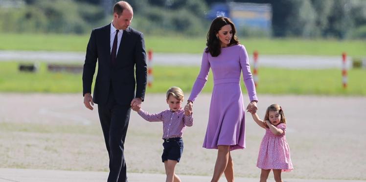Pourquoi George et Charlotte n'ont pas le droit de manger avec leurs parents