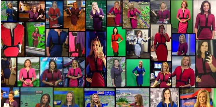 Pourquoi ces présentatrices météo portent-elles toutes la même robe ?