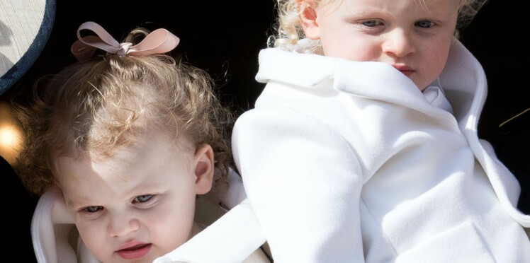 Photo - Premier rendez-vous chez le coiffeur pour Jacques et Gabrielle, les enfants de Charlène et Albert de Monaco