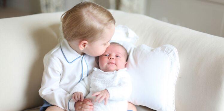 Craquantes, les premières photos de baby George et de la princesse Charlotte !