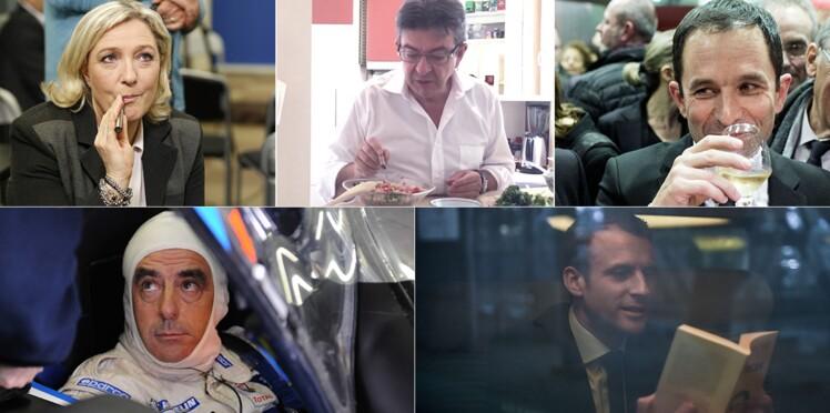 Présidentielle 2017 : les secrets des candidats pour décompresser