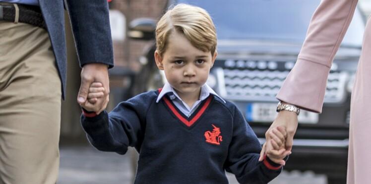 """Le Prince George, sévèrement critiqué par le """"pire cauchemar de la famille royale"""""""