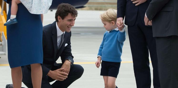 Le prince George met un vent au premier ministre canadien!