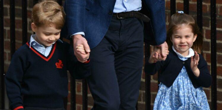 Prince George et princesse Charlotte : première sortie publique avec Kate Middleton depuis le mariage de leur oncle Harry