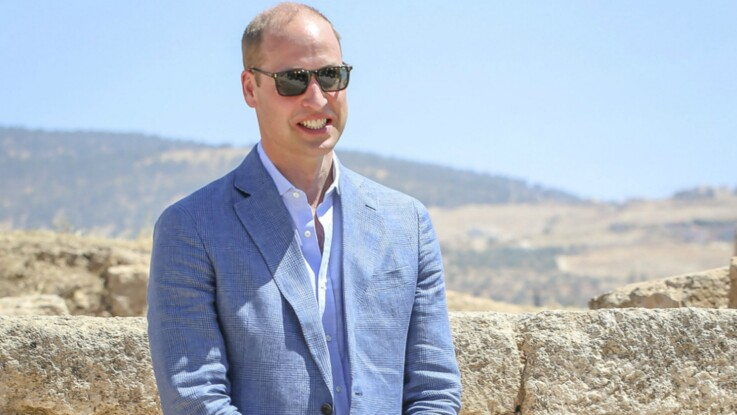 Le Prince William découvre un surprenant cliché de Kate Middleton lors de son voyage en Jordanie