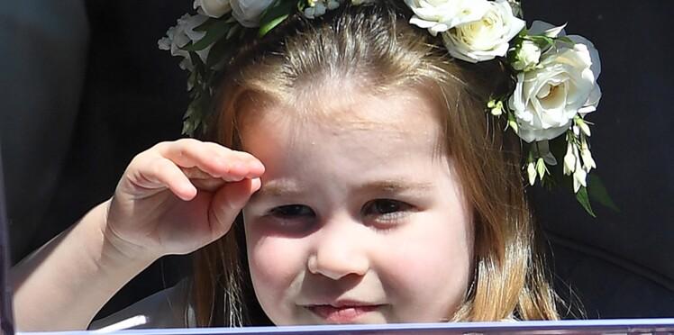 Photos - Mariage royal : La Princesse Charlotte adorable en demoiselle d'honneur