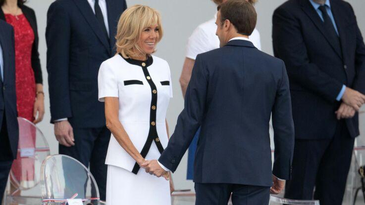 Une entorse au protocole pour rapprocher Brigitte Macron de son époux