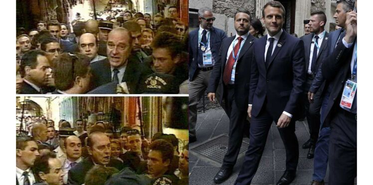 Quand Emmanuel Macron imite (à merveille) Jacques Chirac...