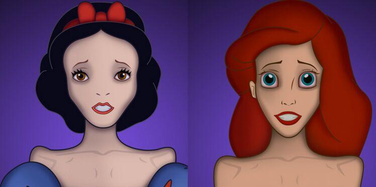 Quand les princesses Disney alertent sur l'anorexie