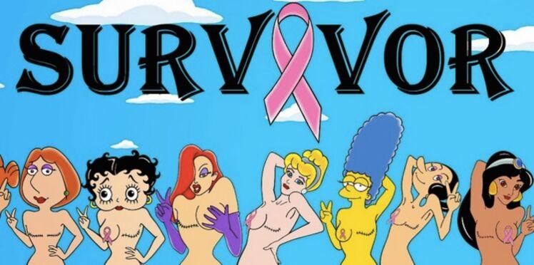 Quand les princesses Disney survivent à un cancer du sein