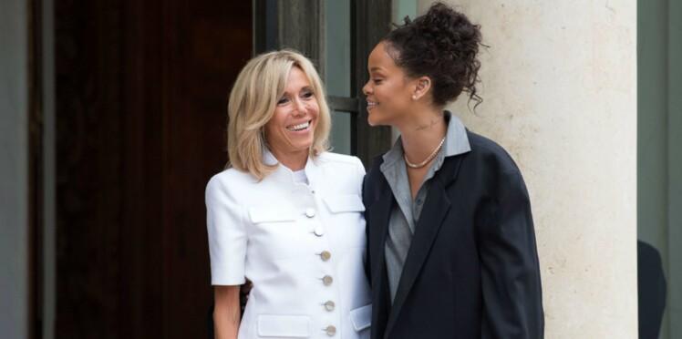 """Rihanna sous le charme des Macron : """"Une rencontre incroyable"""""""