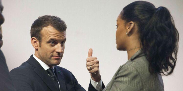 Rihanna et Emmanuel Macron: retrouvailles à Dakar