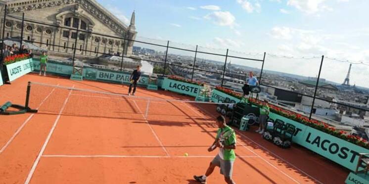 Roland Garros : le match des Galeries Lafayette