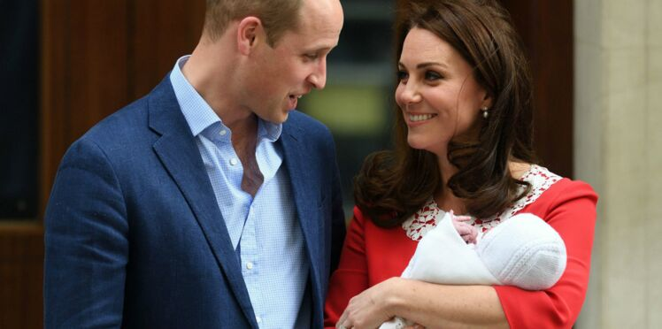 Royal Baby 3 : Kate et William dévoilent deux adorables photos du prince Louis