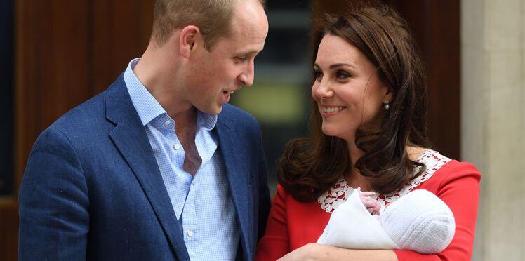 Royal Baby 3 : on connaît (enfin) le prénom du troisième enfant de Kate Middleton et du prince William
