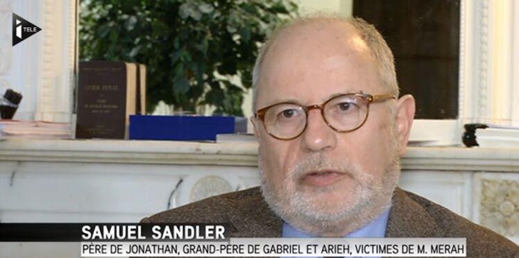 Samuel Sandler ne veut pas qu'on oublie son fils et ses petits-fils de 3 et 5 ans, tués par Mohamed Merah
