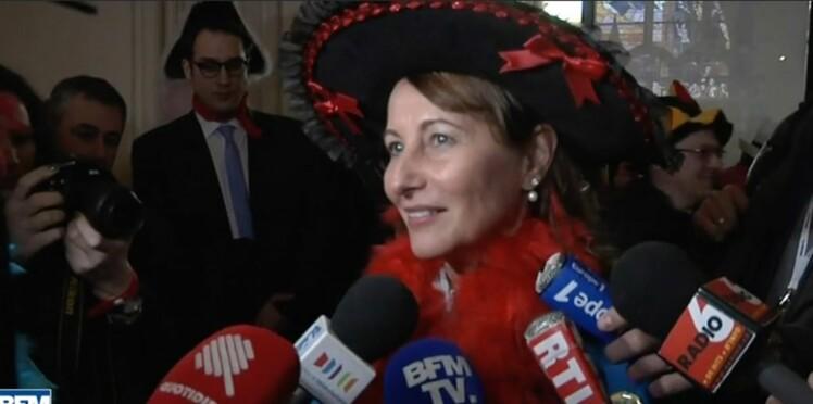 Ségolène Royal s'éclate au Carnaval de Dunkerque