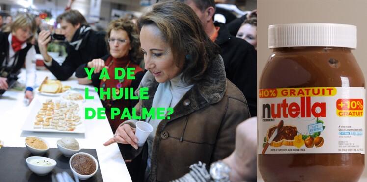 Ségolène Royal part en guerre contre le Nutella