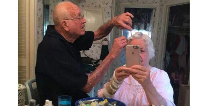 Photo : un couple de seniors plus amoureux que jamais