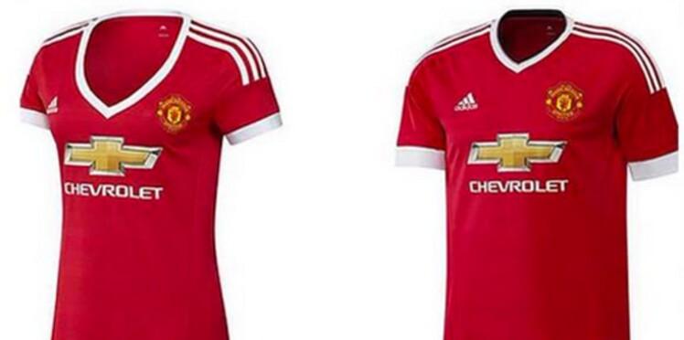 Sexisme : le décolleté du maillot féminin de Manchester United agace les supportrices