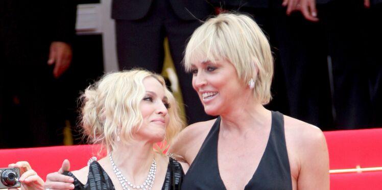 """Sharon Stone """"médiocre"""" selon Madonna, lui fait une réponse parfaite"""