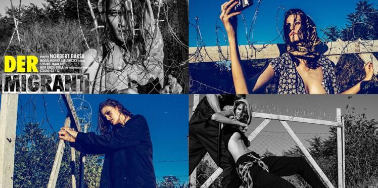 Shooting de mode sur le thème des réfugiés : expression artistique ou acte commercial ?
