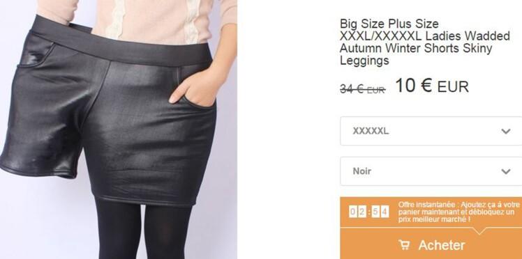 """Outrée par les photos d'un site pour """"grandes tailles"""", une styliste réplique en images"""