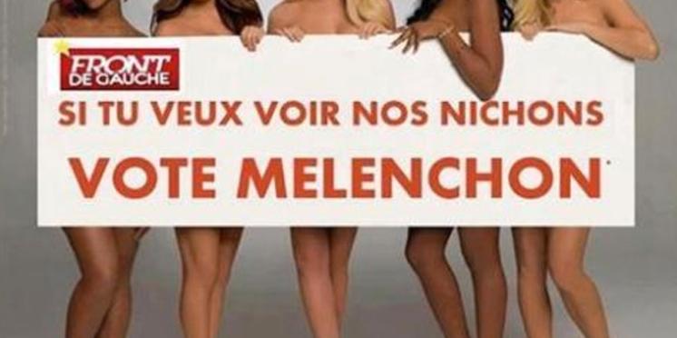 Quand l'humour de gauche profite à Mélenchon...