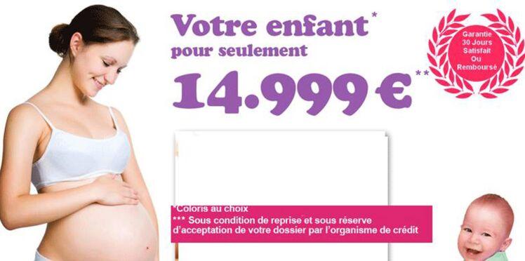 Signez la pétition contre l'achat et la vente de bébés