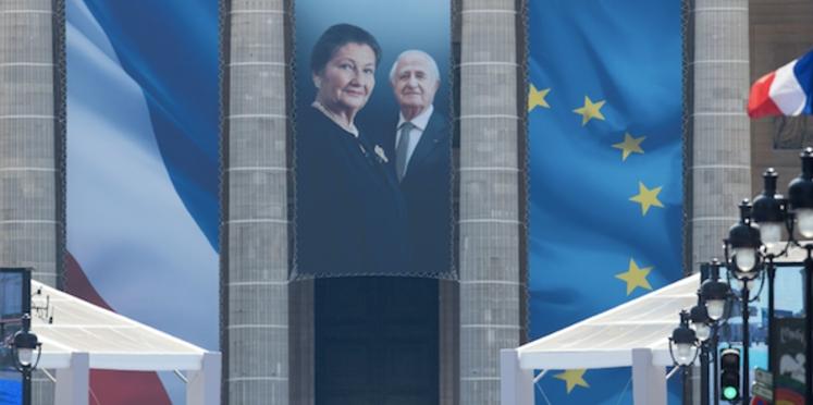 Photo - Simone Veil au Panthéon : les plus belles images de la cérémonie