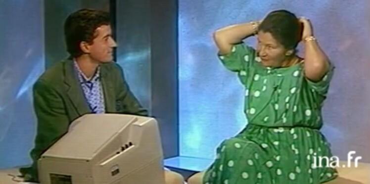 Vidéo – Le jour où Simone Veil détachait son chignon à la demande de Christophe Dechavanne