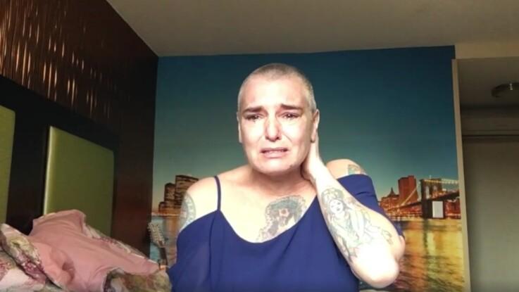 Sinead O' Connor, suicidaire, publie une vidéo inquiétante sur Facebook