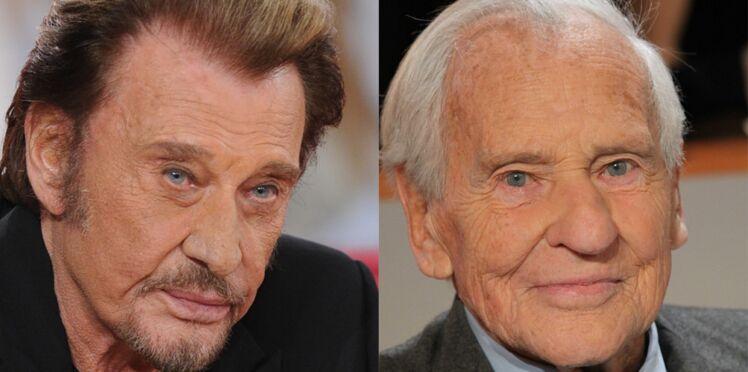 Un site de généalogie révèle que Johnny Hallyday et Jean d'Ormesson étaient cousins