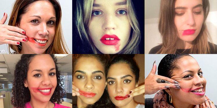 #SmearForSmear : ces femmes font déborder leur rouge à lèvres pour la bonne cause