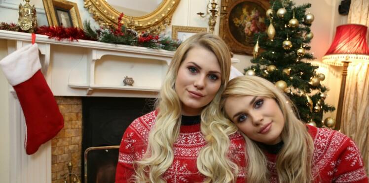 Magie de Noël : non, ces deux jeunes filles ne sont pas sœurs jumelles