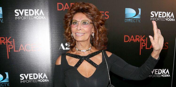 Marcello Mastroianni lui manque, Sophia Loren émouvante