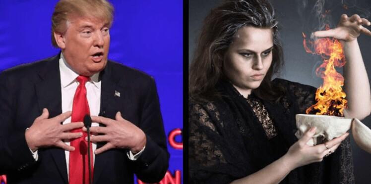 Des sorciers du monde entier invités à jeter un sort à Donald Trump