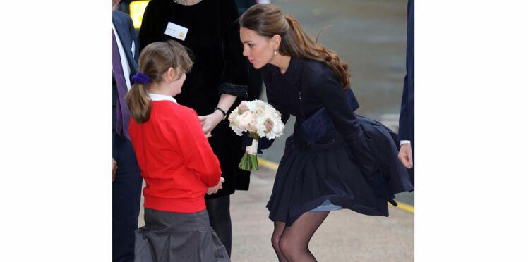 Sous la jupe de Kate Middleton... façon Marilyn Monroe !