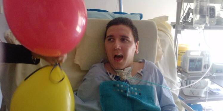 Soutenez Robin Richard, un adolescent frappé par la foudre